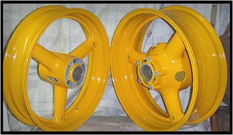 car wheel refurbishment